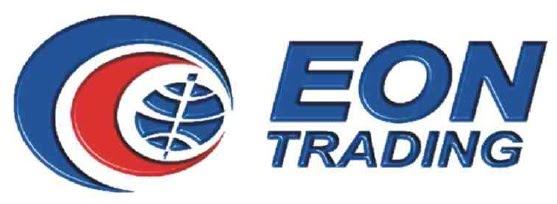 Eon trading logo white background